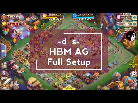 Castle Clash HBM AG Full Setup