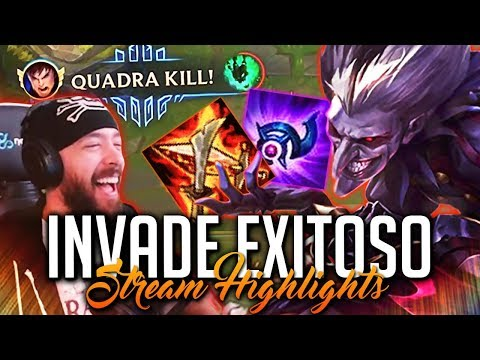 OTRO INVADE CON ÉXITO | Stream Highlights (League of Legends) thumbnail