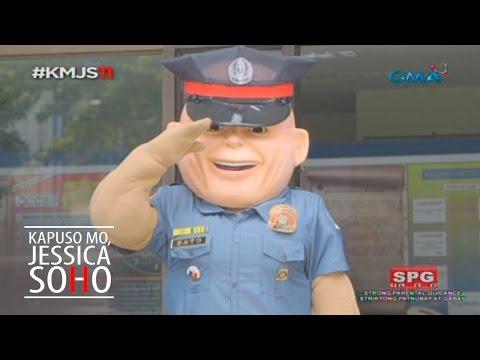 Kapuso Mo, Jessica Soho: Meet PO1 Bato, the PNP mascot