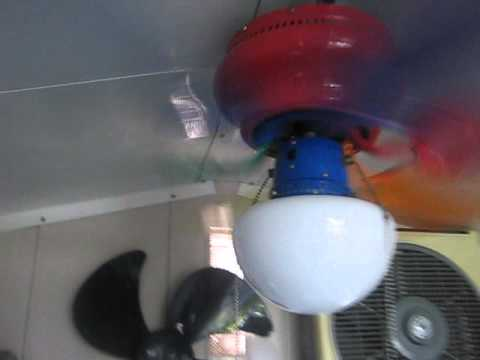Heritage Multicolor 30 Ceiling Fan