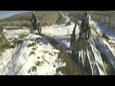 Green Laning North Yorkshire - On Ice!!