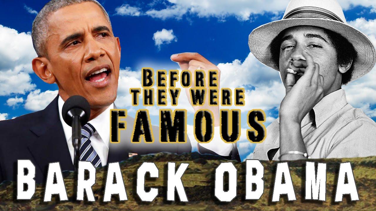 BARACK OBAMA - Before They Were Famous - YouTube