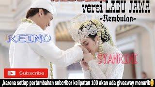 SYAHRINI&REINO BARACK wedding versi lagu jawa-Rembulan !!