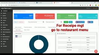 How to operate receipe mgt| digirestro pos application| billing software
