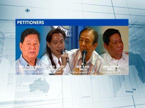 Deklarasyon ng martial law sa Mindanao, pormal nang kinuwestyon ng ilang mambabatas sa Korte Suprema