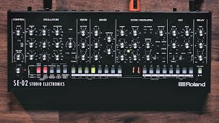 7 Minutes with the Roland SE-02 (Sounds Only)