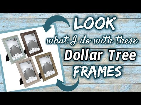LOOK What I Make With These DOLLAR TREE FRAMES | QUICK & EASY DIY