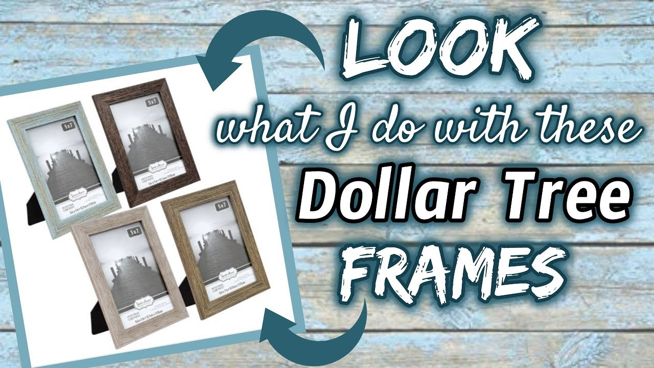 Look What I Make With These Dollar Tree Frames Quick Easy Diy Youtube Dollar Tree Frames Diy Dollar Tree Decor Dollar Store Diy