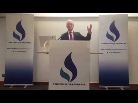 Peter Lilley MP at Conservative Progress Conference 2017