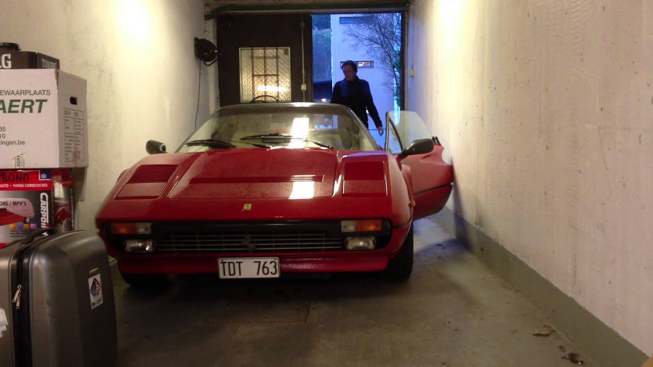 Ferrari GTS 308 QV 1983 Euro spec  start up and reverse  YouTube