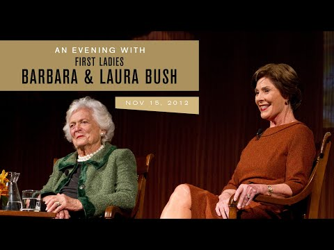 An Evening with Barbara Bush and Laura Bush, 11/15/12.