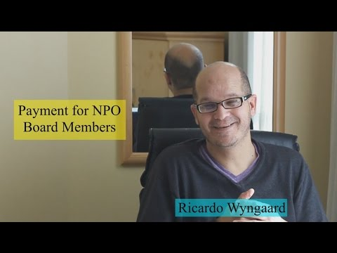 Payment of Board Members of Nonprofit Organizations
