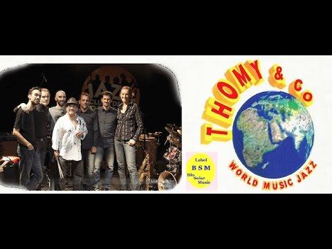 "Thomy & Co Live 2015  - 1/4 "" Jazz en Août "" La Ciotat"