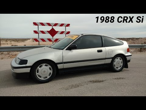 1988 Honda CRX Si Walk-Around - Built For The Track (Time Attack)