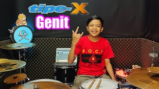 Download 🇮🇩 Tipe-X - Genit | Drum Cover By Gilang Dafa