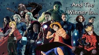 Winner of the Anime for Avengers Fans Contest!