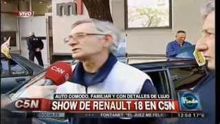 Desde México para el Club Renault 18 Buenos Aires, TV C5N Argentina