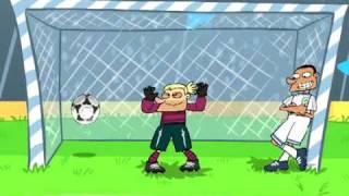 "Мультфильм ""Динамо"". Cartoons ""Soccer in Ukraine. Dynamo. """