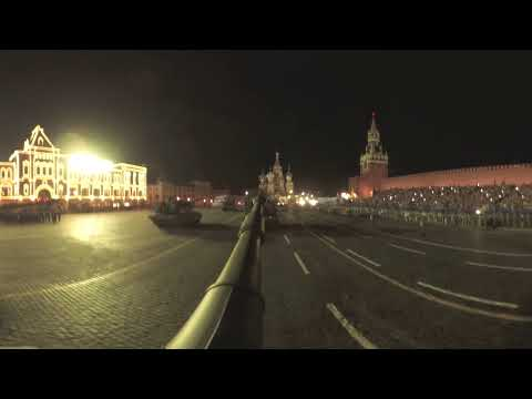 Victory Day Parade 360: 'Msta-S' howitzer on Moscow streets