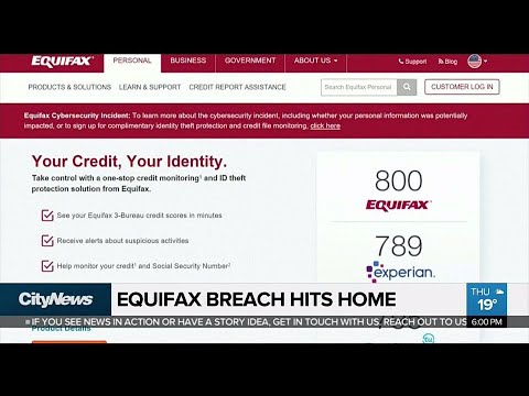 Equifax breach impacting thousands of Canadians