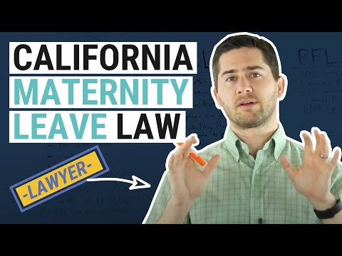 CA Maternity Leave Explained by a Lawyer
