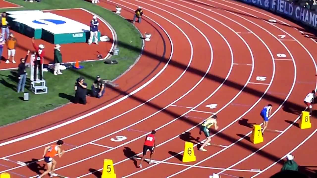 athletics running events