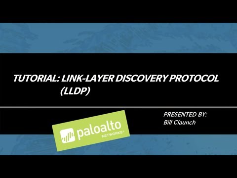 Tutorial: Link Layer Discovery Protocol (LLDP)