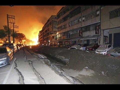 Taiwan gas pipeline blasts kill 25, injures 267 | Saluran Pipa Gas Meledak Di Taiwan