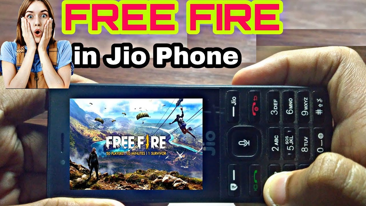 How To Download Free Fire Game In Jio Phone New Update
