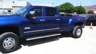 2015 Chevrolet Silverado 3500HD High Country Lifted with Air Ride Suspension by 4x4Works