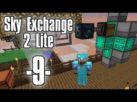 Dansk Minecraft - Sky Exchange 2 Lite #9 - Quantum Quarry (HD)