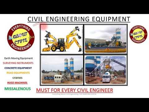 यह वीडियो हरेक सिविल इंजीनियर ( CIVIL ENGINEER ) को जरूर देखना चाहिए Civil Engineering Equipment