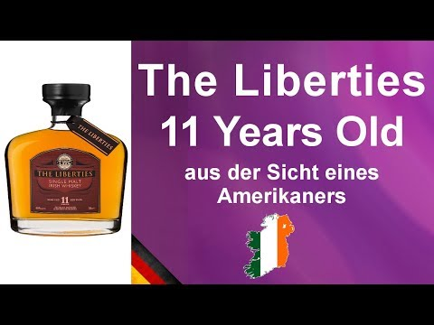 #544 - The Liberties  11 year old Single Malt Irish Whiskey Verkostung von WhiskyJason