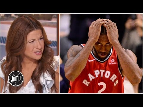 Why does Kawhi Leonard have to be a good leader? - Rachel Nichols | The Jump