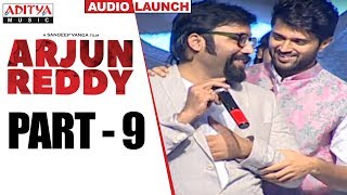 Arjun Reddy Audio Launch Part - 9 || Vijay Devarakonda || Shalini