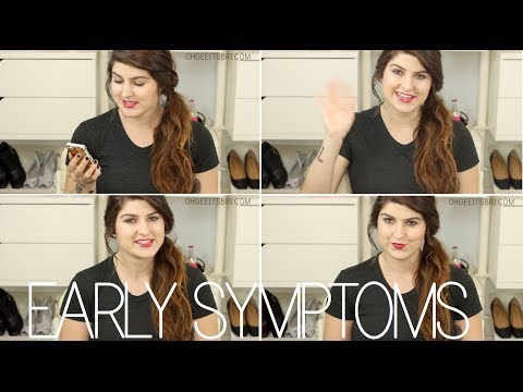 my early pregnancy symptoms  ✶ how we found out! - YouTube