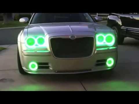 2005 10 Chrysler 300c Colorshift Led Smd Halo Headlights