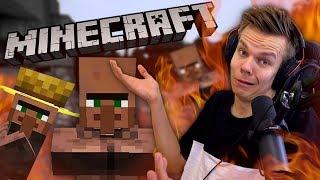 Villagerin lasta turpaan Minecraftissa! // Herba Palaa 🔥