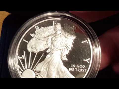 2016 Proof Silver Eagle: A Cavalier Look