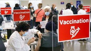 COVID 19 в Европе единственная надежда на вакцинацию