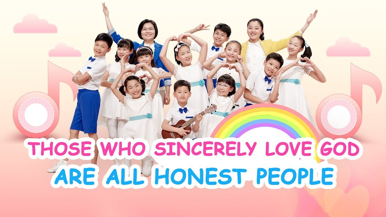 "Kids Dance Christian Song ""Those Who Sincerely Love God Are All Honest People"""