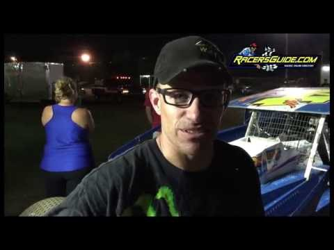 Bridgeport Speedway Three For All Highlights 8/16/16