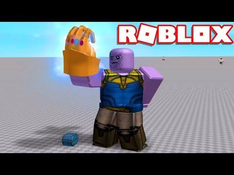 Roblox → COMO VIRAR O THANOS !! - Roblox Infinity Gauntlet Experiment 🎮