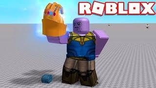 Roblox → COMO VIRAR O THANOS no ROBLOX !! - Roblox Infinity Gauntlet Experiment 🎮
