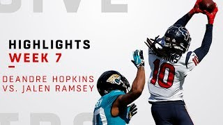 DeAndre Hopkins vs. Jalen Ramsey Highlights