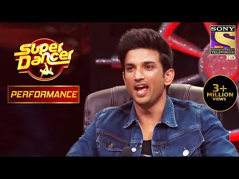 "Sushant Mind-blown With Awastha's Dance On ""Udi Udi Jaaye"" 