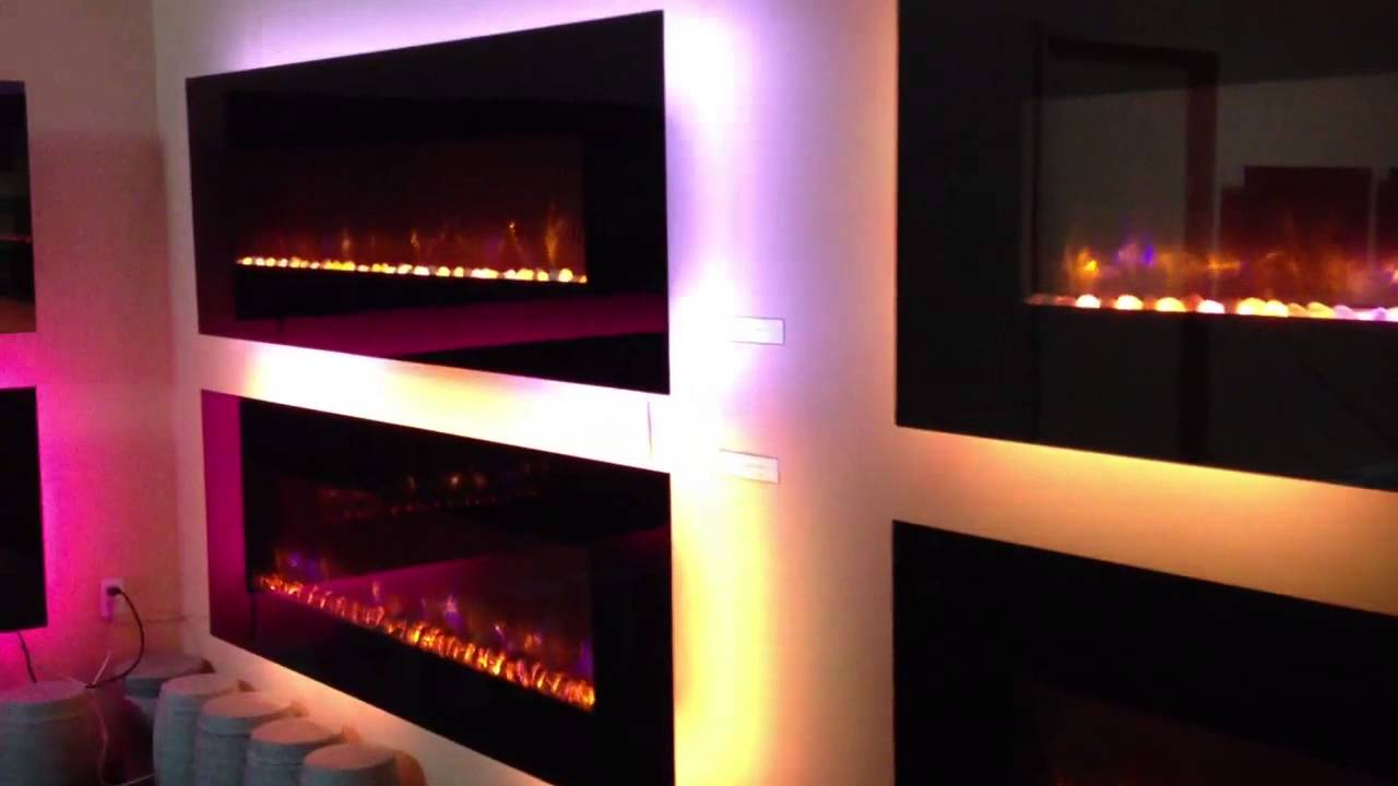 dynasty led electric fireplace youtube