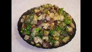 Лёгкий салат Баклажаны ГРИБНЫЕ рецепт БАКЛАЖАНЫ рецепт  Салат БЕЗ майонеза Баклажаны рецепты