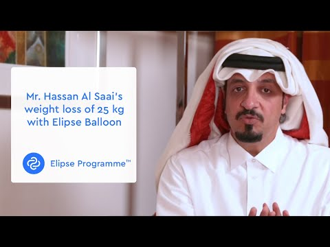 Mr. Hassan Al Saai's Weight Loss Of 25 Kg With Elipse Balloon