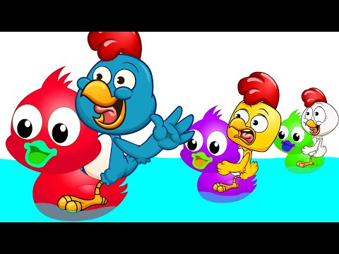 Pollitos Pio carrera de patos de colores - Pio Pio - Dibujos animados para niños from YouTube · Duration:  10 minutes 37 seconds